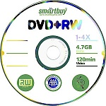 SMART BUY DVD-RW 4X BRAND BULK\100шт в пленке (600)