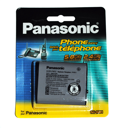 PANASONIC HHR-P 402A/1B new 511 1000mAh TYPE 30 для р/тел.