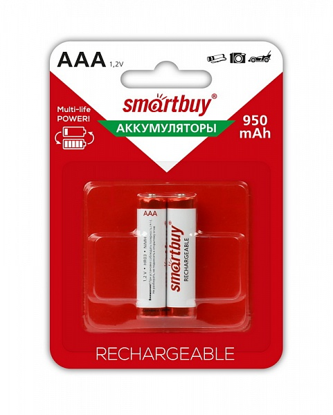 SMART BUY R03/AAA-2BL (950 mAh) NiMh (24)(240)