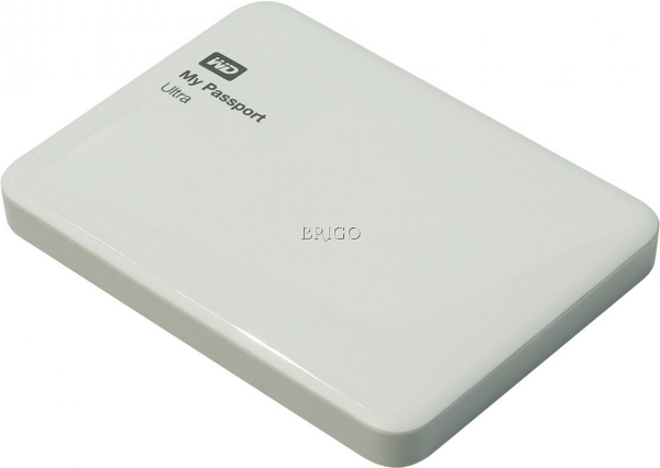 WESTERN DIGITAL 1000GB MY PASSPORT ULTRA БЕЛЫЙ USB 3.0