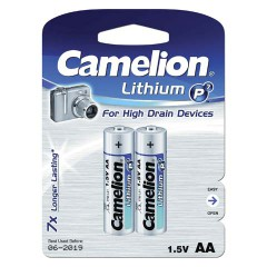 CAMELION FR 6 - 2BL (AA) LITHIUM (24)