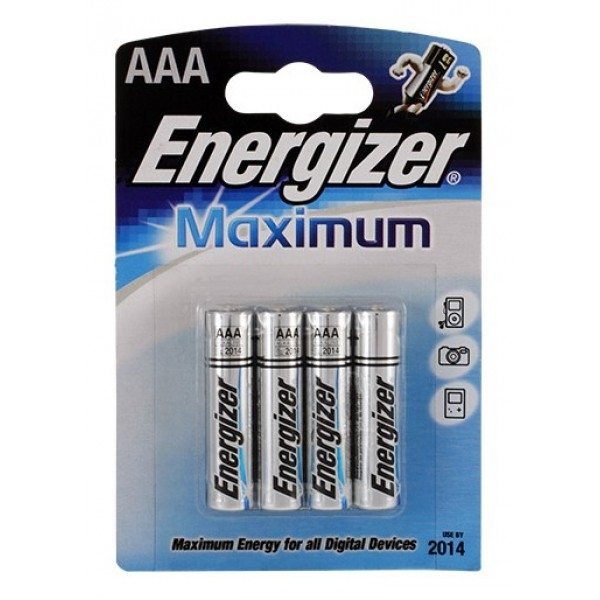 ENERGIZER LR03-4 BL MAXIMUM МАКСИМУМ ЭНЕРГИИ (48)