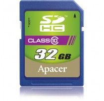 APACER  32GB SECURE DIGITAL SDHC CLASS 10 UHS-I ВЫ...
