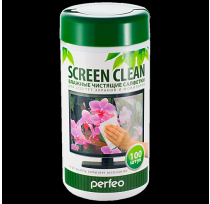 PERFEO САЛФЕТКИ Screen Clean Double 50 сухих+50 вл...